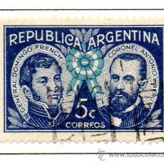 Sellos: ARGENTINA.- SELLO YVERT Nº 416 EN USADO. Lote 45083437