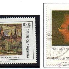 Sellos: ARGENTINA.- CATÁLOGO YVERT Nº 1242/43, EN NUEVO Y USADO. Lote 45400541