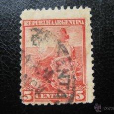 Sellos: ARGENTINA 1899, YVERT 115. Lote 45435087