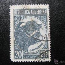 Sellos: ARGENTINA 1942, YVERT 424. Lote 45447793