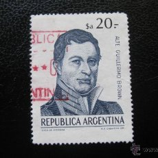 Sellos: ARGENTINA 1983, GUILLERMO BROWN . Lote 45652398