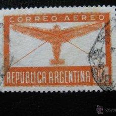 Sellos: ARGENTINA 1942, CORREO AEREO, YVERT 25. Lote 45653031