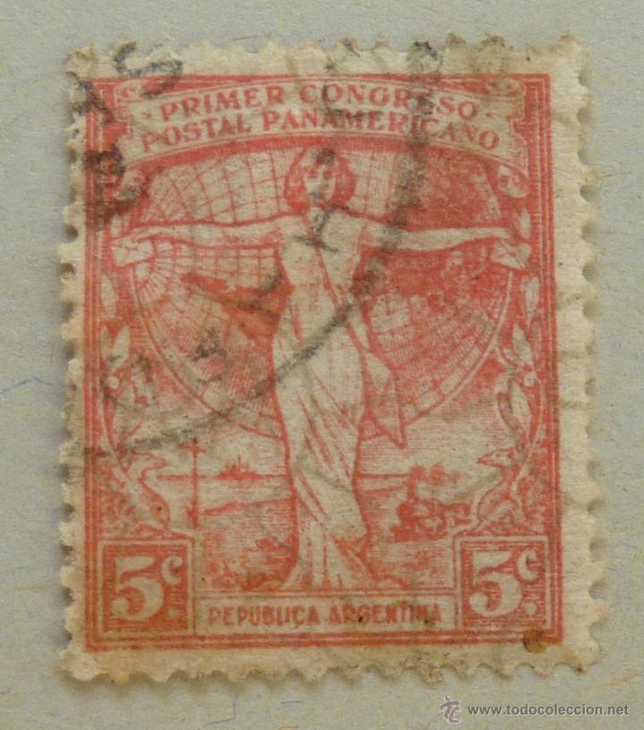 REPUBLICA ARGENTINA. 50 CENTAVOS 1921 (Sellos - Extranjero - América - Argentina)