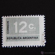 Sellos: REPÚBLICA ARGENTINA 12 C.. Lote 47943700