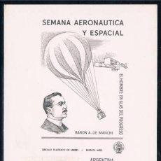 Sellos: 1972 ARGENTINA (BUENOS AIRES) TEMA GLOBO. Lote 49323721