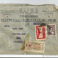 Sellos: ARGENTINA CORREO AEREO 1944. Lote 54544159