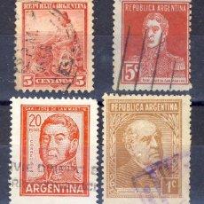 Sellos: ARGENTINA.- LOTE USADOS.- . Lote 54687761
