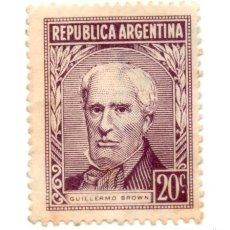 Sellos: ARGENTINA 1956-N.673-PERSONALIDADES-VIOLETA PEDRUSCO -NUEVO. Lote 56258765