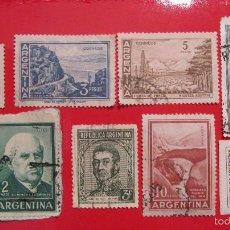 Sellos: SELLO ARGENTINA: LOTE DE 8. 3,2,5,10,25,50. Lote 56515934