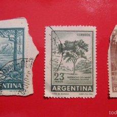 Sellos: SELLO ARGENTINA: LOTE DE 3. 20,23,45. PESOS. . Lote 56515990