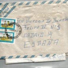 Sellos: SOBRE Y CARTA ARGENTINA MADRID 19NOV81.. Lote 59066735