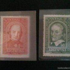 Sellos: ARGENTINA 1959 CONGRESO DE CIENCIAS FISIOLOGICAS SERIE DE DOS,,,,NUEVOS. Lote 59640559