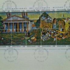 Stamps - ARGENTINA 1980 Sobre primer día exposición internacional de filatelia Buenos Aires - 74326889