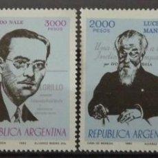 Sellos: ARGENTINA - PERSONAJES. Lote 74454647