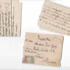 Sellos: SOBRE CIRCULADO BUENOS AIRES-MALLORCA 1917 + 2 CARTAS MANUSCRITAS. Lote 78340905