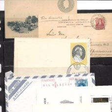 Sellos: ARGENTINA. CONJUNTO DE 12 PIEZAS DE HISTORIA POSTAL. Lote 87364704