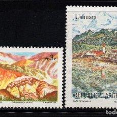 Sellos: ARGENTINA 1647/48* - AÑO 1988 - PAISAJES. Lote 95507659