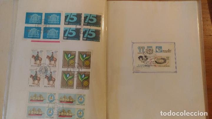 Sellos: ALBUM CON MAS DE 700 ESTAMPILLAS CON SELLO DIA DE EMISION - AÑOS 1970/ 1980 - OFERTA UNICA - Foto 5 - 97611447
