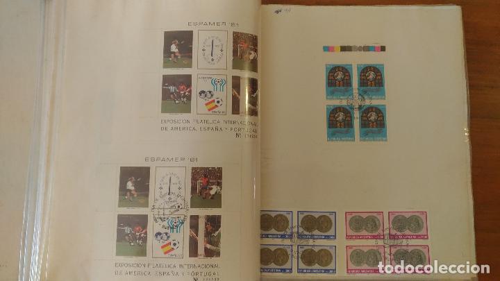 Sellos: ALBUM CON MAS DE 700 ESTAMPILLAS CON SELLO DIA DE EMISION - AÑOS 1970/ 1980 - OFERTA UNICA - Foto 23 - 97611447