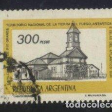 Sellos: S-0836- REPUBLICA ARGENTINA. CAPILLA MUSEO DE RIO GRANDE.. Lote 98697711