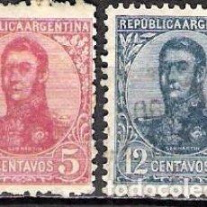 Sellos: ARGENTINA 1908 - USADO. Lote 100290083