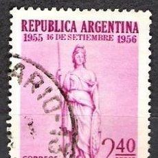 Sellos: ARGENTINA 1956 - USADO. Lote 100307943