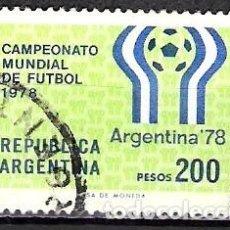 Sellos: ARGENTINA 1978 - USADO. Lote 100310391