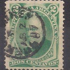 Sellos: ARGENTINA 1877 - USADO. Lote 105420667