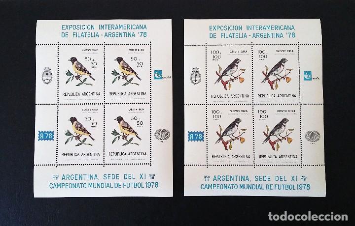 Sellos: ARGENTINA 78 - EXPOSICION INTERAMERICANA DE FILATELIA - NUEVOS SIN FIJASELLOS - Foto 2 - 109819531