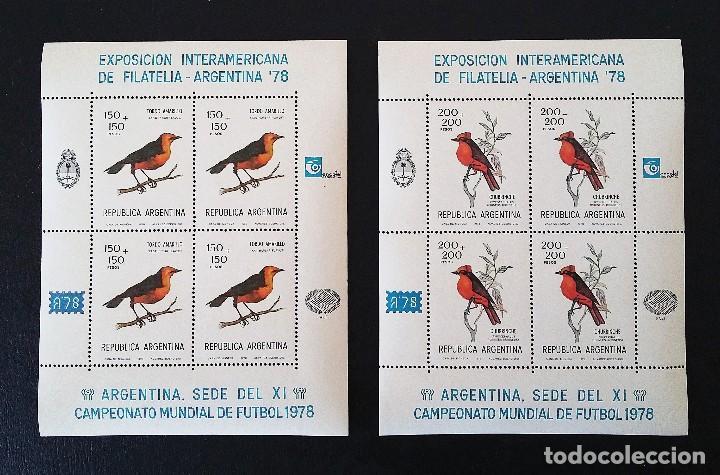 Sellos: ARGENTINA 78 - EXPOSICION INTERAMERICANA DE FILATELIA - NUEVOS SIN FIJASELLOS - Foto 3 - 109819531