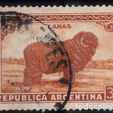 Sellos: ARGENTINA. IVERT 377, USADO. LANAS, FAUNA.. Lote 113194383