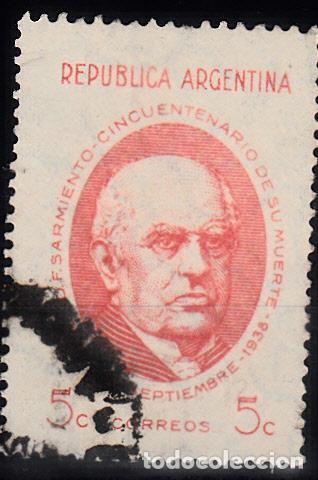 ARGENTINA. IVERT 388, USADO. (Sellos - Extranjero - América - Argentina)
