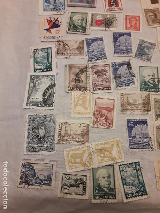 Sellos: Argentina 78 sellos usados variados - Foto 2 - 117008703