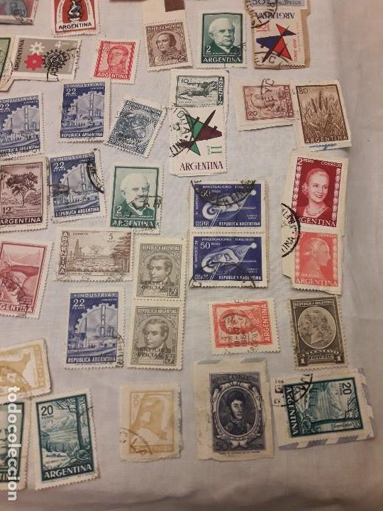 Sellos: Argentina 78 sellos usados variados - Foto 3 - 117008703