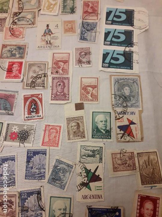 Sellos: Argentina 78 sellos usados variados - Foto 4 - 117008703