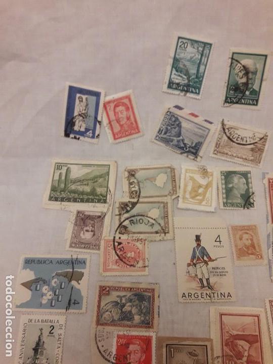 Sellos: Argentina 78 sellos usados variados - Foto 6 - 117008703
