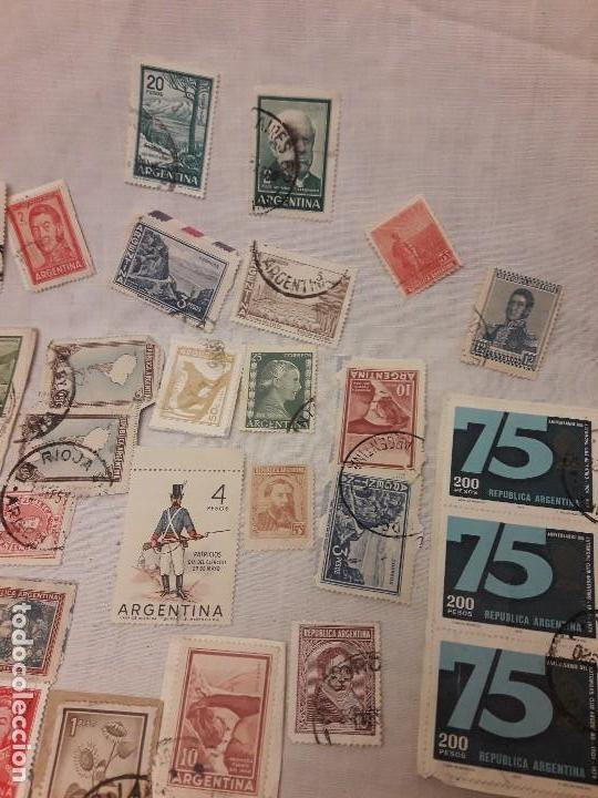 Sellos: Argentina 78 sellos usados variados - Foto 7 - 117008703