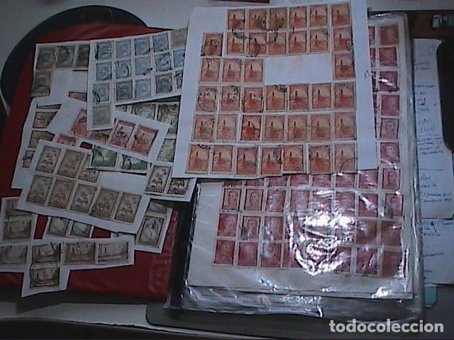 LOTE DE MAS DE 700 SELLOS ANTIGUOS DE LA REPÚBLICA ARGENTINA. (Sellos - Extranjero - América - Argentina)