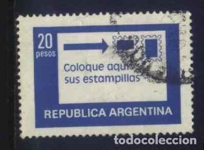 S-1881- REPUBLICA ARGENTINA. (Sellos - Extranjero - América - Argentina)