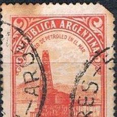 Sellos: SELLO USADO ARGENTINA 1936 YVES 379 VER DOBLE MATASELLOS. Lote 144406958