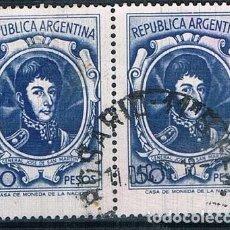 Sellos: SELLO USADO ARGENTINA 1967 YVES 782 VER. Lote 144408766