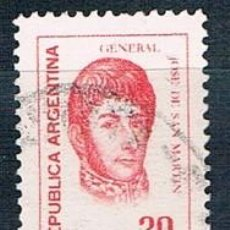 Sellos: SELLO USADO ARGENTINA 1977 YVES 1071 VER. Lote 144409070