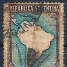 Sellos: SELLO USADO ARGENTINA 1945 YVES 454 VER. Lote 144743378