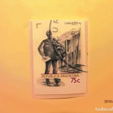 Sellos: ARGENTINA - CORREOS - CARTERO.. Lote 148749782