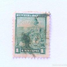 Sellos: SELLO POSTAL ARGENTINA 1899, 1 C, LIBERTAD SENTADA , USADO. Lote 153694254