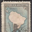 Sellos: ARGENTINA - UN SELLO - EDIFIL #386A -***PRODUCTO DEL PAIS***- AÑO 1949 - USADOS. Lote 159012426