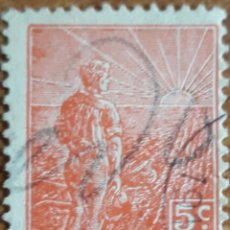 Sellos: SELLO REPUBLICA ARGENTINA 5 CENTAVOS 1916. Lote 160263670