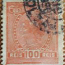 Sellos: SELLO BRASIL 100 REIS 1919. Lote 160268309
