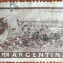 Sellos: SELLO ARGENTINA 1 PESO GANADERÍA. Lote 160272750