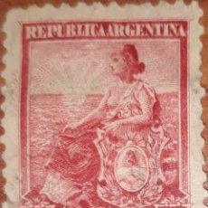 Sellos: SELLO REPUBLICA ARGENTINA 5 CENTAVOS 1899. Lote 160372685